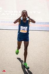 Girma Bekele Gebre, ETH, <br /> unseeded runner takes third place<br /> TCS New York City Marathon 2019