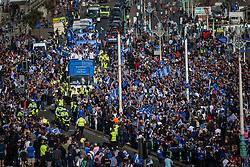 Brighton & Hove Albion open top bus parade - Mandatory by-line: Jason Brown/JMP - 14/05/17 - FOOTBALL - Brighton and Hove Albion, Sky Bet Championship 2017 - Brighton and Hove Albion Promotion Parade