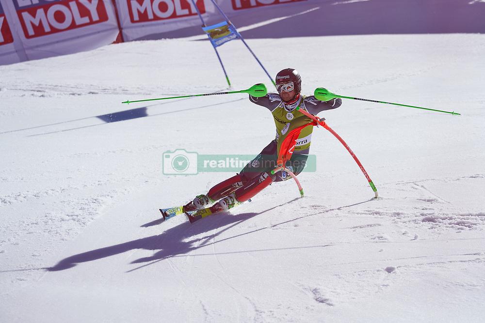 March 15, 2019 - Andorra - Sebastian FOSS-SOLEVAAG during of the Alpine Team's race, Audi Fis Alpine Ski World Cup, Finals Round, on March 15, 2019 in Soldeu - El Tarter, Andorra (Credit Image: © AFP7 via ZUMA Wire)
