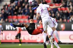 October 28, 2018 - Rennes, France - 21 Benjamin ANDRE (ren) - RETOURNE ACROBATIQUE (Credit Image: © Panoramic via ZUMA Press)