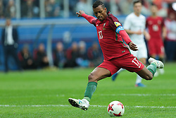 June 24, 2017 - Saint Petersburg, Russia - Nani of the Portugal national football team vie for the ball during the 2017 FIFA Confederations Cup match, first stage - Group A between New Zealand and Portugal at Saint Petersburg Stadium on June 24, 2017 in St. Petersburg, Russia. (Credit Image: © Igor Russak/NurPhoto via ZUMA Press)