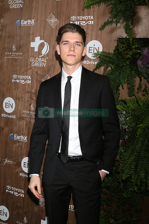 February 20, 2019 - Beverly Hills, CA, USA - LOS ANGELES - FEB 20:  Devan Key at the Global Green 2019 Pre-Oscar Gala at the Four Seasons Hotel on February 20, 2019 in Beverly Hills, CA (Credit Image: © Kay Blake/ZUMA Wire)