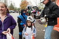 Holy Trinity Catholic School's annual Trunk or Treat parade.  Karen Bobotas/for the Laconia Daily Sun