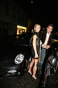 JANNIKE AKERLIND AND STEFAN BOOTH, De Grisogono & Londino Car Rally  party. <br />Pal Zileri, Hans Crescent London, W1, 22 August. Launch of car rally which takes drivers through London, France, Switzerland and finally to Portofino .  -DO NOT ARCHIVE-© Copyright Photograph by Dafydd Jones. 248 Clapham Rd. London SW9 0PZ. Tel 0207 820 0771. www.dafjones.com.