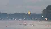 Amsterdam. NETHERLANDS. General views down Lane 2. 2014 FISA  World Rowing. Championships.  De Bosbaan Rowing Course . 07:25:14  Thursday  21/08/2014  [Mandatory Credit; Peter Spurrier/Intersport-images]