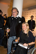 DIEGO LA VALLE AND IWONA BLAZWICK, TOD'S Art Plus Film Party 2008. Party to raise funds for the Whitechapel art Gallery.  One Marylebone Road, London NW1, 6 March, 8.30 - late<br /> *** Local Caption *** -DO NOT ARCHIVE-© Copyright Photograph by Dafydd Jones. 248 Clapham Rd. London SW9 0PZ. Tel 0207 820 0771. www.dafjones.com.