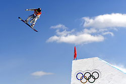12-02-2018 SNOWBOARDEN: SLOPESTYLE: OLYMPISCHE SPELEN: OLYMPIC GAMES: PEYONGCHANG 2018<br /> Hailey Langland (USA)<br /> <br /> Foto: Soenar Chamid