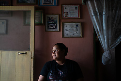 Delmy Vareda, Rio Dulce. Delmy migrated to the US but was deported. She has been helped to set up a small business by the Lutheran World Federation with support from ELCA.