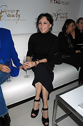 MARIE HELVIN attending the Tag Heuer party where an exhibition of photographs by Mary McCartney celebrating 15 exception women from 15 countries was unveiled at the Royal College of Arts, Kensington Gore, London on 8th February 2007.<br /><br />NON EXCLUSIVE - WORLD RIGHTS