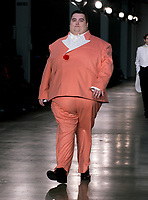 8ON8 presented by GQ Catwalk show at  London Fashion Week Men's, Truman Brewery Brick Lane London. 05.01.20