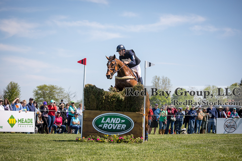 Chris Talley (USA) and Unmarked Bills during the cross-country at the 2019 Land Rover Kentucky Three-Day Event presented by MARS EQUESTRIAN in Lexington, Kentucky