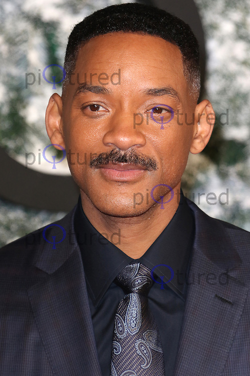 Will Smith, Collateral Beauty - European film premiere, Leicester Square, London UK, 15 December 2016, Photo by Richard Goldschmidt