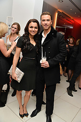 SAMANTHA BARKS and RICHARD FLEESHMAN at a pre party for the English National Ballet's Christmas performance of The Nutcracker was held at the St.Martin's Lane Hotel, St.Martin's Lane, London on 12th December 2013.