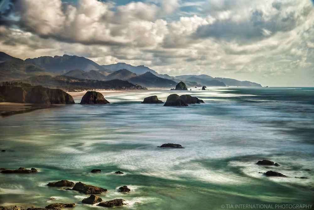 Cannon Beach from Ecola State Park