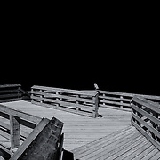 """""""Negative Space One""""<br /> <br /> If you love pure black and white photography with lines, angles, and negative space, then you'll surely  enjoy this image!"""