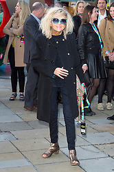 © Licensed to London News Pictures. 04/04/2016 ANNIE NIGHTINGALE attends The Rolling Stones Exhibition Private at The Saatchi Gallery. London, UK. Photo credit: Ray Tang/LNP