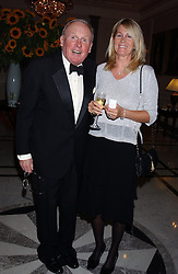 MR & MRS GAY KINDERSLEY at the annual Ascot charity auction dinner this year in aid of The Princes Trust held at the Hyatt Churchill Hotel, Portman Square, London on 21st September 2004.<br /><br />NON EXCLUSIVE - WORLD RIGHTS