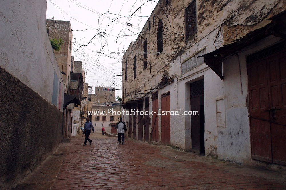 Morocco, Fes, IJewish quarters