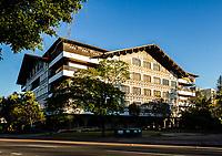 Prédio da Prefeitura Municipal de Blumenau. Blumenau, Santa Catarina, Brasil. / Blumenau City Hall building. Blumenau, Santa Catarina, Brazil.