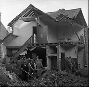 Gas Leak explosion in Dublin.22/11/1956