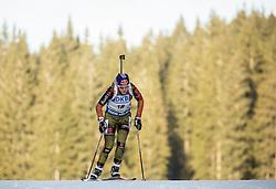 Miriam Goessner (GER) competes during Women 7,5 km Sprint at day 2 of IBU Biathlon World Cup 2015/16 Pokljuka, on December 18, 2015 in Rudno polje, Pokljuka, Slovenia. Photo by Vid Ponikvar / Sportida