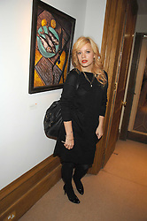 LILY ALLEN at a private view of Paul Simonon's recent paintings held at Thomas Williams Fine Art, 22 Old Bond Street, London on 15th April 2008.<br />