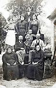 three generation farmers family 1900s France