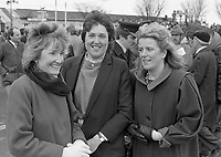 At Punchestown Racecourse, Irish National Hunt Festival, Punchestown, Dublin, circa April 1986 (Part of the Independent Newspapers Ireland/NLI Collection).