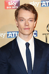 © Licensed to London News Pictures. 18/03/2015, UK. Alfie Allen (Theon Greyjoy), Game of Thrones - Series Five World Premiere, Tower of London, London UK, 18 March 2015. Photo credit : Richard Goldschmidt/Piqtured/LNP