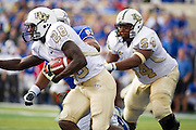 Dec 1, 2012; Tulsa, Ok, USA; University of Central Florida Knights..during a game against the Tulsa Hurricanes at Skelly Field at H.A. Chapman Stadium. Tulsa defeated UCF 33-27 in overtime to win the CUSA Championship. Mandatory Credit: Beth Hall-USA TODAY Sports