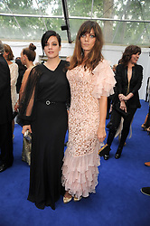 Left to right, LILY ALLEN and her sister SARAH OWEN at the Glamour Women Of The Year Awards held in Berkeley Square, London on 8th June 2010.