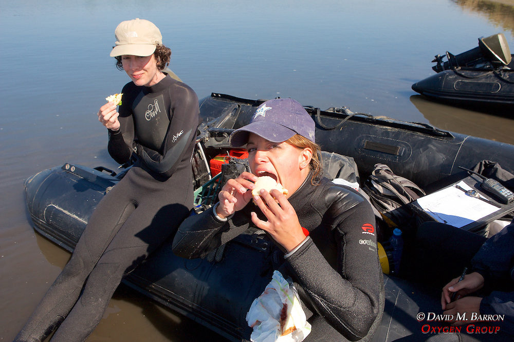 Melissa & Jemima Eating Lunch