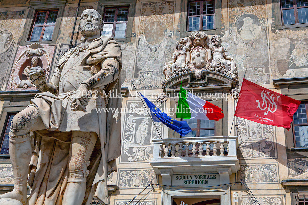 April 30, 2014<br /> Palazzo della Carovana, a 16th century university and palace. Pisa, Italy.<br /> ©2014 Mike McLaughlin<br /> www.mikemclaughlin.com<br /> All Rights Reserved