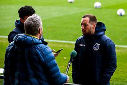 Bristol Rovers manager Ben Garner is interviewed prematch at Rochdale - Mandatory by-line: Robbie Stephenson/JMP - 31/10/2020 - FOOTBALL - Crown Oil Arena - Rochdale, England - Rochdale v Bristol Rovers - Sky Bet League One