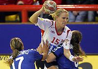 05.12.2008 Ohrid(FYR Macedonia)<br />Ukraine-Norway European women's handball championship<br />Kristiansen Tine(c) Norway<br />Foto:Aleksandar Djorovic