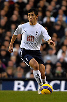 Photo: Ed Godden/Sportsbeat Images.<br /> Tottenham Hotspur v Newcastle United. The Barclays Premiership. 14/01/2007. Spurs player Young-Pyo Lee.