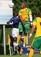 Photo: Maarten Straetemans.<br /> AGOVV Apeldoorn v Norwich City. Pre Season Friendly. 21/07/2007.<br /> John Ostemebor (right)