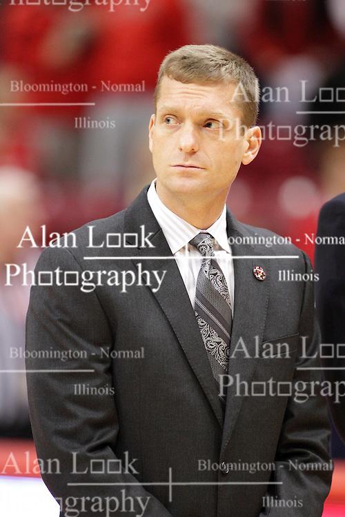 08 November 2015: Luke Yaklich. Illinois State Redbirds host the Southern Indiana Screaming Eagles and beat them 88-81 in an exhibition game at Redbird Arena in Normal Illinois (Photo by Alan Look)