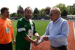 Matthew Barnes of SWYD United - Mandatory by-line: Dougie Allward/JMP - 08/05/2016 - FOOTBALL - Keynsham FC - Bristol, England - BAWA Sports v SWYD United - Presidents cup final