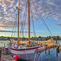 Schooner Ardelle at the historic Maritime Gloucester at sunrise in Gloucester Harbor on Cape Ann, Massachusetts.<br /> <br /> Nautical photography images of the Schooner Ardelle at Maritime Gloucester are available as museum quality photography prints, canvas prints, acrylic prints, wood prints or metal prints. Fine art prints may be framed and matted to the individual liking and interior design decorating needs.<br /> <br /> Good light and happy photo making!<br /> <br /> My best,<br /> <br /> Juergen