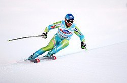 Rok Perko of Slovenia during the Men's Super-G of the Audi FIS Ski World Cup Val Gardena 2009/10, on Friday, December 18, 2009 in Val Gardena  - Groeden, Italy. The Audi FIS Ski World Cup 2009/10 is taking place in South Tyrol until Monday the 21st of December 2009. (Photo by Pierre Teyssot / Sportida.com)