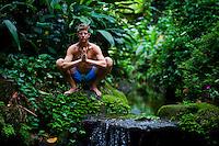 Adam Rinder at Jardin Botanico, Rio do Janeiro