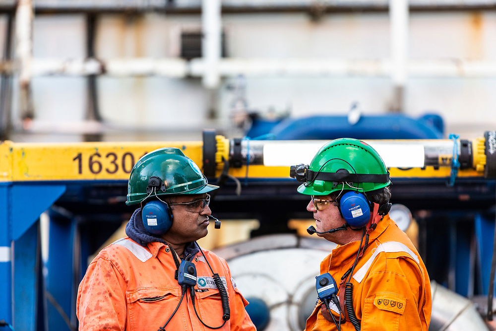 Sunday 12th August 2018, West Hercules, North Sea<br /> <br /> Siccar Point Energy Cambo Well Test<br /> <br /> (Ross Johnston/Newsline Media)