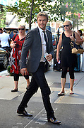 Sept. 4, 2014 - New York City, NY, United States - <br /> <br /> Derek Hough from Season 19 of 'Dancing with the Stars' arriving at a downtown hotel on September 4 2014 in New York City<br /> ©Exclusivepix