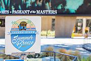 Laguna Beach Summer Breeze Signage