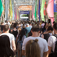 Sziget Festival held in Budapest, Hungary on Aug. 13, 2018. ATTILA VOLGYI