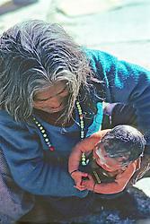Woman & Newborn