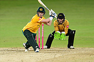 Tom Moores of Nottinghamshire during the Vitality T20 Blast North Group match between Nottinghamshire County Cricket Club and Leicestershire County Cricket Club at Trent Bridge, Nottingham, United Kingdom on 1 October 2020.