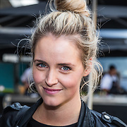 NLD/Amsterdam/20160830 - Nieuw TAG Hauer horloge, Liza Sips