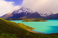 Lake Nordenskjold (Paine Grande in background), Torres del Paine National Park, Patagonia, Chile